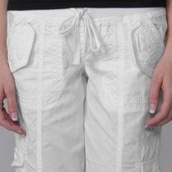 Ci Sono by Journee Juniors Cuffed Cargo Shorts