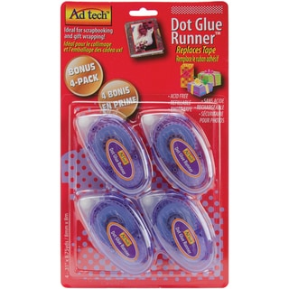 Permanent Dot Runner 4/Pkg-.31