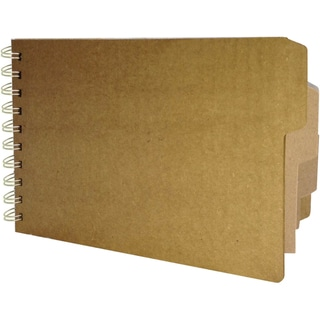 Bare Booklets Spiral Bound Mixed Media Album 5.5