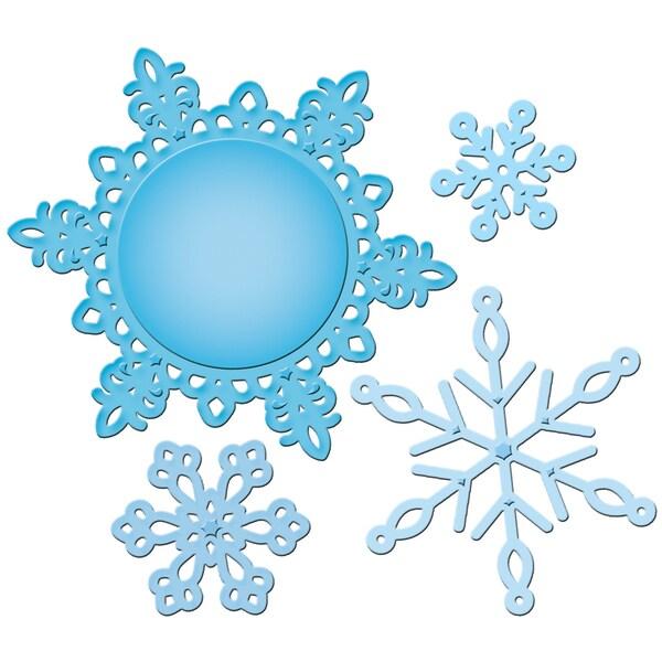 Spellbinders Shapeabilities Pendants Dies-Snowflake