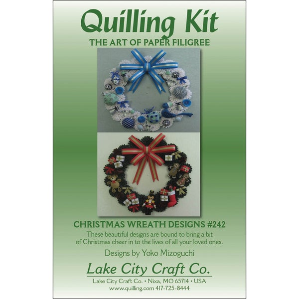 Quilling Kit-Christmas Wreaths