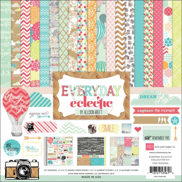 """Everyday Eclectic Collection Kit 12""""X12""""-"""