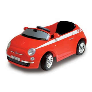 Motorama Jr. Red Fiat 500 Ride-on Car