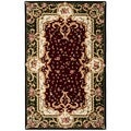 Safavieh Handmade Garden Scrolls Red New Zealand Wool Rug