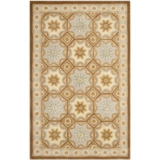 Safavieh Handmade Snowfalls Ivory New Zealand Wool Rug