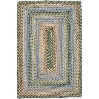 Beach Indoor/ Outdoor Braided Rug (8' x 10')