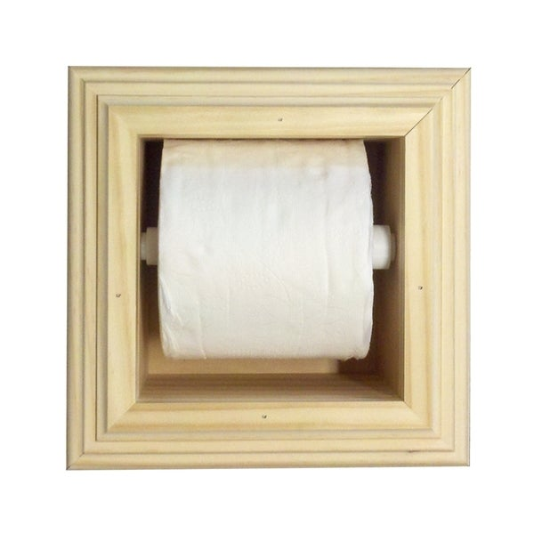 In-the-wall Toilet Paper Holder