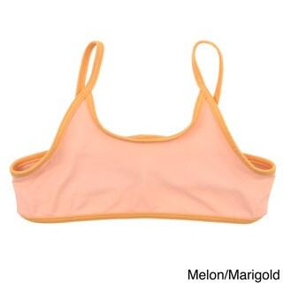 American Apparel Girls Nylon Tricot Bikini Top
