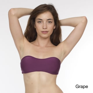 American Apparel Women's Nylon-tricot Bandeau Bikini Top