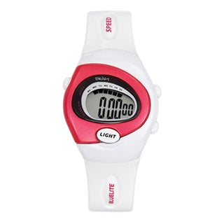 Tekday Children's White Plastic Digital Sport Watch