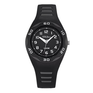 Tekday Children's Black Plastic Sport Watch