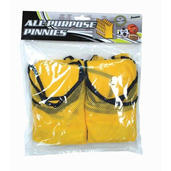Yellow Training Pinnies / Jerseys (6 Pack)