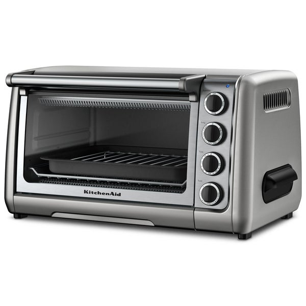 KitchenAid RKCO111CU Contour Silver 10-inch Countertop Oven (Refurbished)