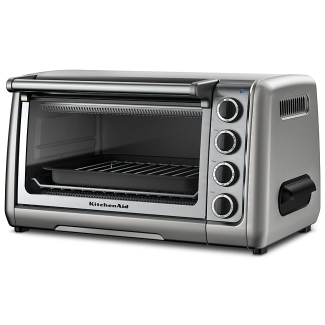 KitchenAid RKCO111CU Contour Silver 10-inch Countertop Oven (Refurbished) at Sears.com