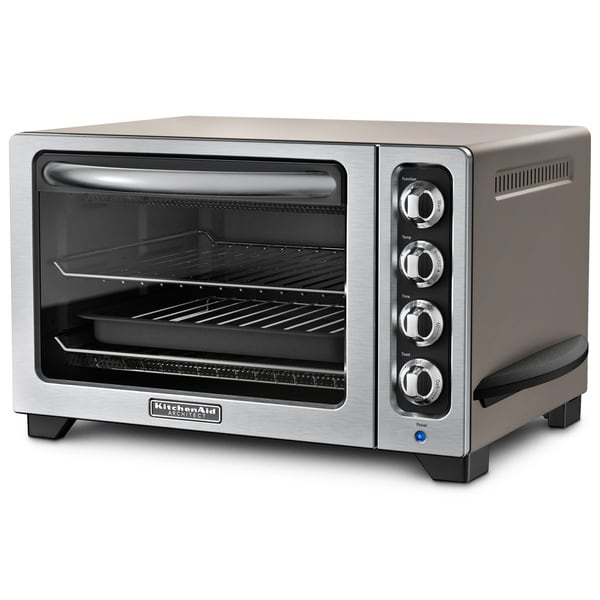 KitchenAid RKCO222CS Cocoa Silver 10-inch Countertop Oven (Refurbished)