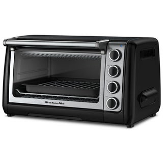 KitchenAid RKCO111OB Onyx Black 10-inch Countertop Oven (Refurbished)