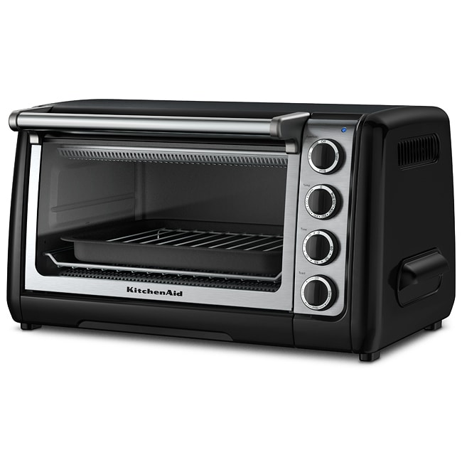 KitchenAid RKCO111OB Onyx Black 10-inch Countertop Oven (Refurbished) at Sears.com