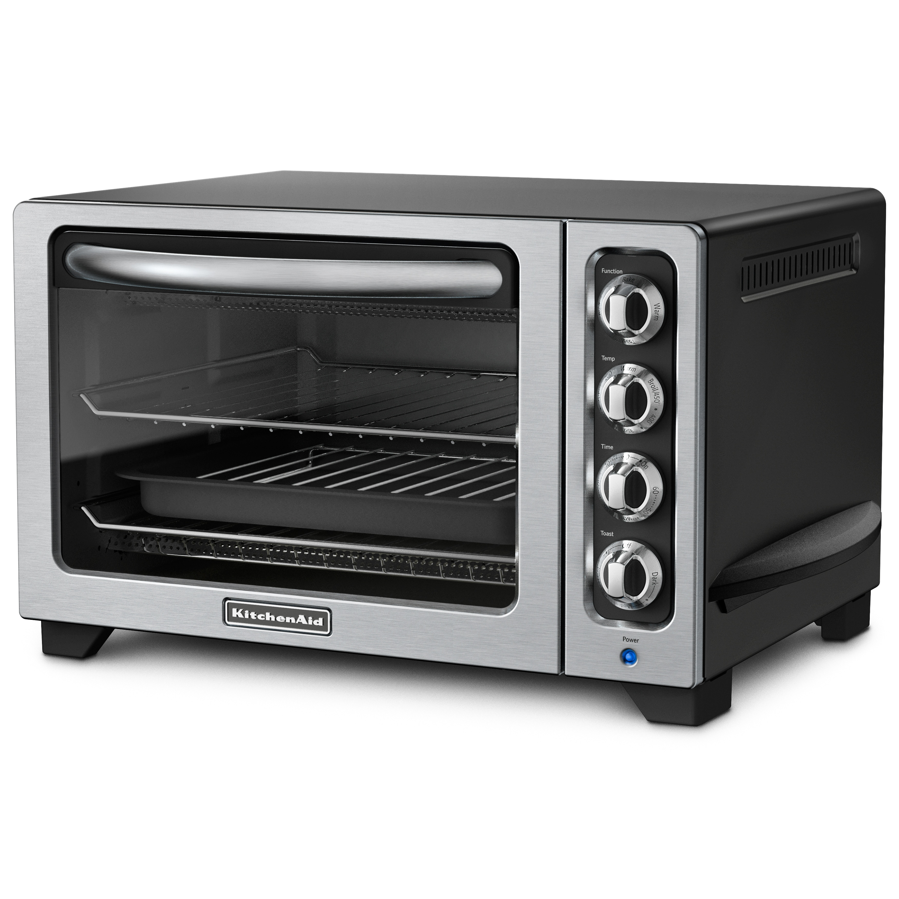 KitchenAid RKCO222OB Onyx Black 12-inch Countertop Oven (Refurbished) at Sears.com