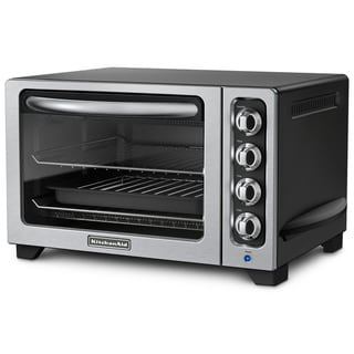 KitchenAid RKCO222OB Onyx Black 12-inch Countertop Oven (Refurbished)