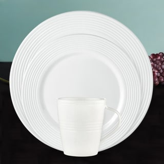Lenox 'Tin Can Alley' 7-degree 12-piece Dinnerware Set