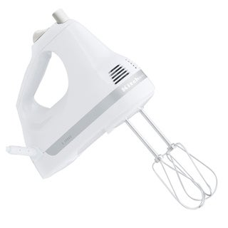 KitchenAid RKHM53WH White 5-Speed Ultra PowerHand Mixer (Refurbished)
