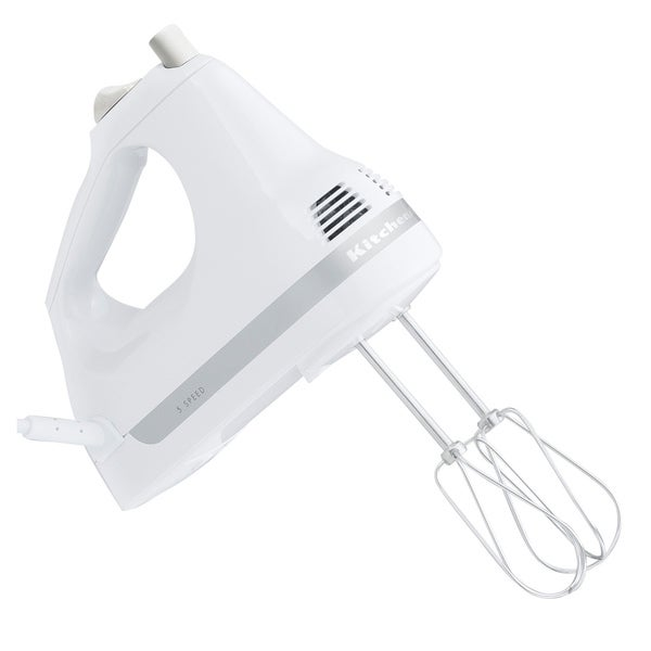 KitchenAid RKHM53WH White 5-Speed Ultra PowerHand Mixer (Refurbished)