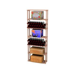 Traditional Redwood Case Wine Rack