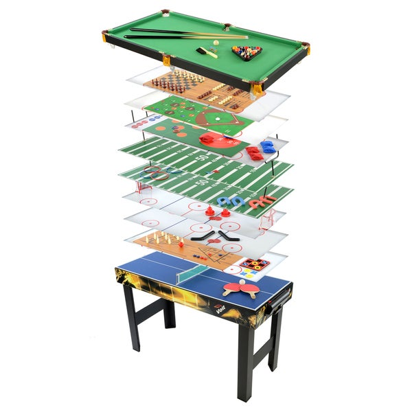Voit Radical 18 in 1 Table Game Center