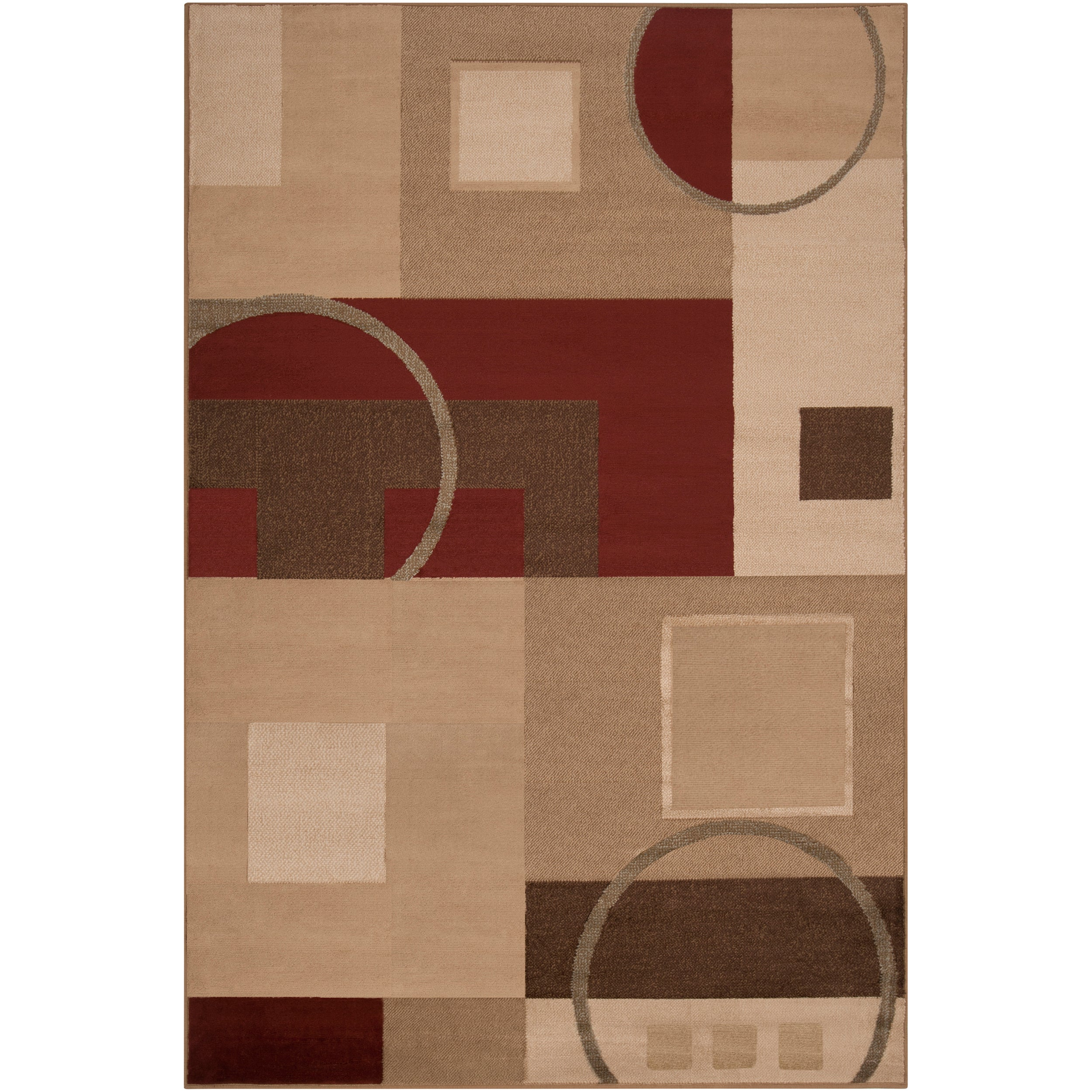 Curricabark Orange Rug (2' x 3')