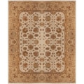 Hand-tufted Cunningham Semi-worsted New Zealand Wool Rug (2' x 3')