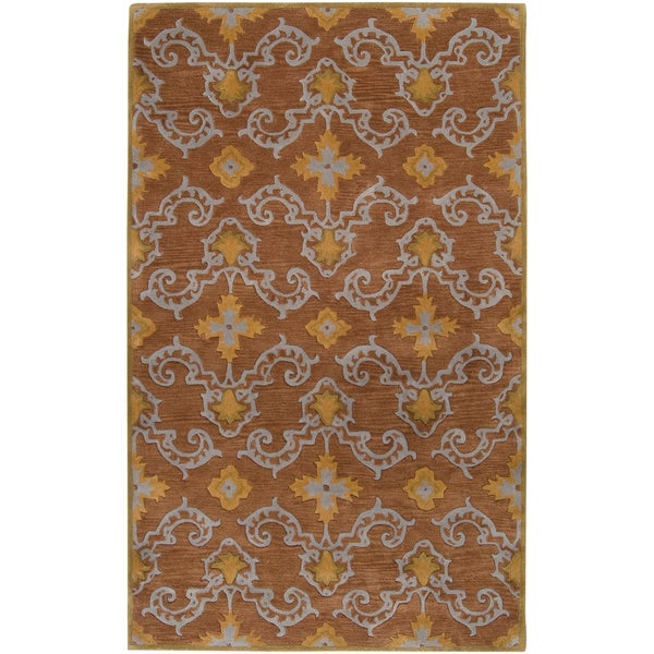 Hand-tufted Buckley New Zealand Wool Rug (2' x 3')