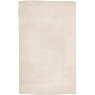 Smithsonian Hand-tufted Brady Geometric Diamond Wool Rug (2' x 3')
