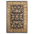 Hand-knotted Taj Mahal Semi-worsted New Zealand Wool Rug (2' x 3')
