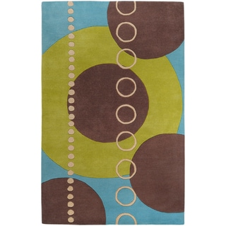 Hand-tufted Maud Geometric Wool Rug (2' x 3')