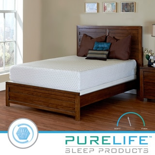 PureLife Summit PureGel Memory Foam 12-inch Queen-size Mattress