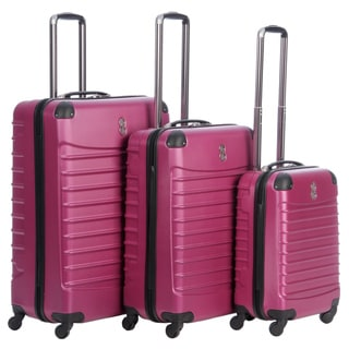 Bill Blass 'Voyager' 3-piece Hardside Spinner Luggage Set
