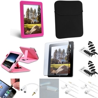BasAcc Case/ Sleeve/ Headset/ Splitter/ Protector for Apple iPad 1