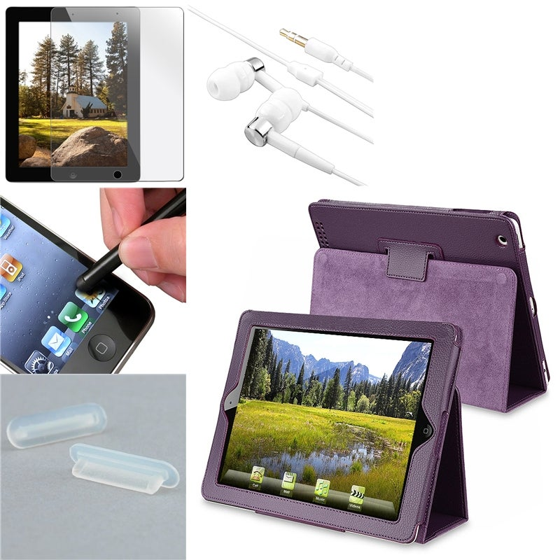 BasAcc Case/ Protector/ Headset/ Stylus/ Dock Plug for Apple iPad 2