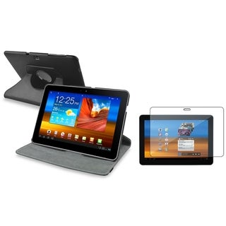 BasAcc Swivel Case/ LCD Protector for Samsung Galaxy Tab 10.1 P7500