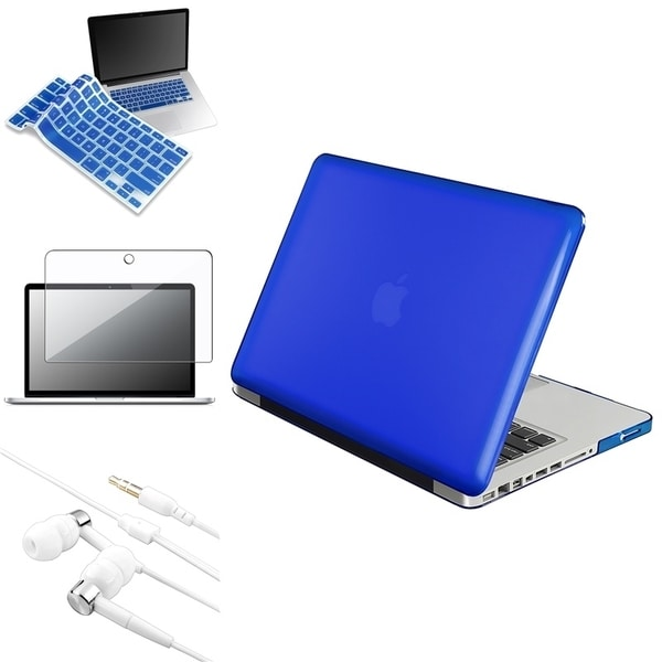 INSTEN Laptop Case Cover/ Protector/ Shield/ Headset for Apple MacBook Pro 13-inch