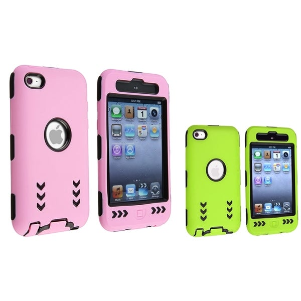 BasAcc Hybrid Cases for Apple iPod Touch 4th Generation