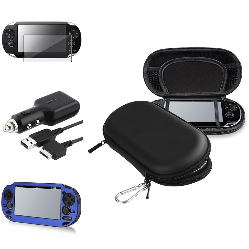 INSTEN Case Covers/ Protector/ Charger for Sony PlayStation Vita