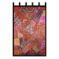 Handcrafted Cotton 'Autumn Splendor' Wall Hanging (India)