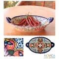 Ceramic 'Wilderness' Talavera Bowl (Mexico)