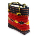 Handcrafted Medium Wool 'Zapotec Legacy' Tote Bag (Mexico)