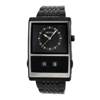 Nixon Men's Black Score Watch