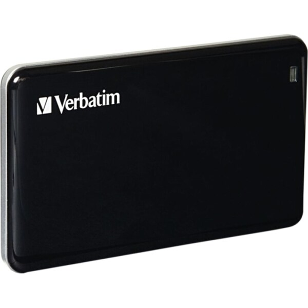 Verbatim 128GB Store 'n' Go External SSD, USB 3.0 - Black