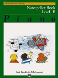 Alfred's Basic Piano Library: Notespeller Book 1b (Paperback)