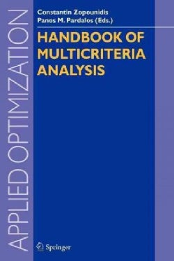 Handbook of Multicriteria Analysis (Paperback)