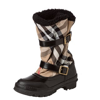 Burberry '3712018' House Check Snow Boot